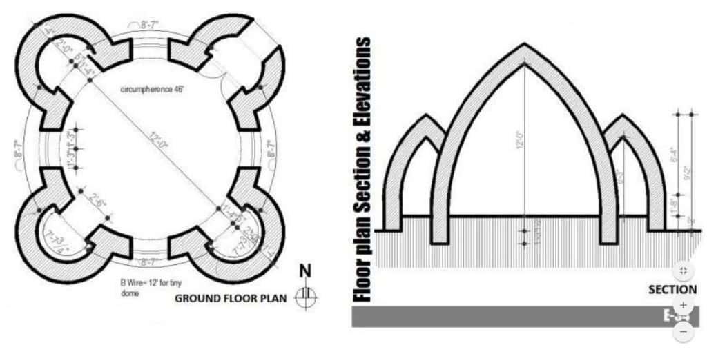 The plan of Superadobe