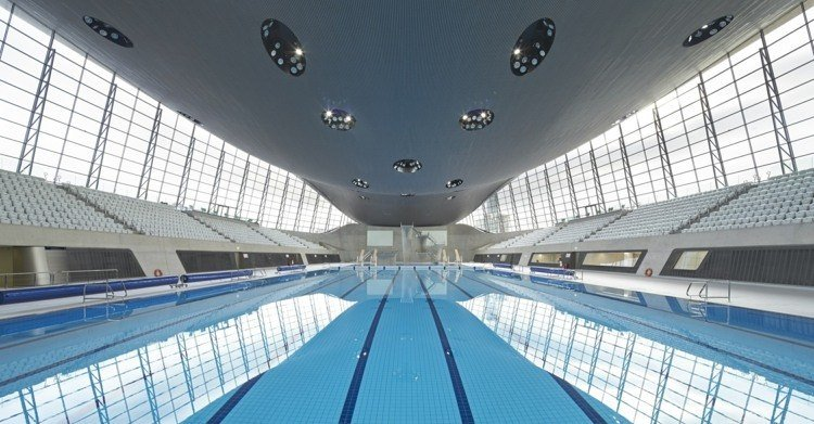 futuristic architecture olympic pool london zaha hadid