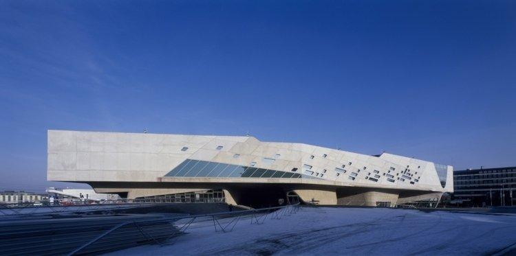 futuristic architecture zaha haddid phaneo construction concrete